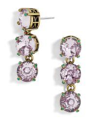 BaubleBar | Gray Cariana Glass Drop Earrings | Lyst