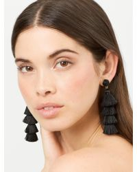 BaubleBar - Multicolor Gabriela Stud Tassel Earrings - Lyst