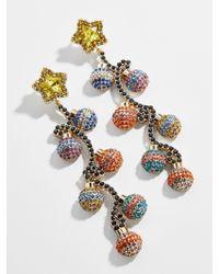 BaubleBar Multicolor Bright Bulbs Drop Earrings