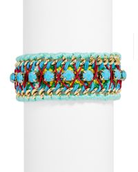 BaubleBar - Blue Alona Bracelet - Lyst