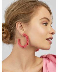 BaubleBar - Metallic Fiona Hoop Earrings - Lyst