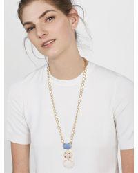 BaubleBar - Multicolor Karmah Pendant Necklace - Lyst
