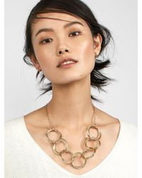 BaubleBar - Multicolor Romina Linked Statement Necklace - Lyst