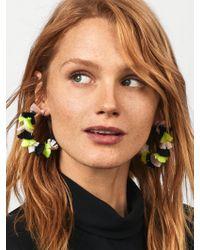 BaubleBar Multicolor Santina Hoop Earrings