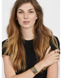 BaubleBar - Metallic Whitney Cuff Bracelet - Lyst