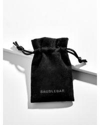 BaubleBar Multicolor Canale Everyday Fine Huggie Hoop Earrings