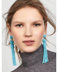 BaubleBar - Blue Mariachi Tassel Earrings - Lyst