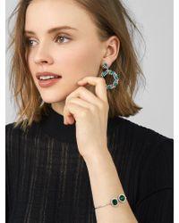 BaubleBar - Multicolor Helena Sterling Silver Cuff Bracelet - Lyst