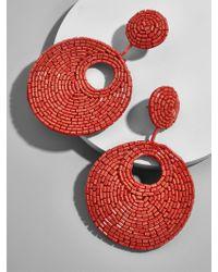 BaubleBar - Red Santorini Drop Earrings - Lyst