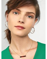 BaubleBar - Multicolor Samantha Hoop Earrings - Lyst