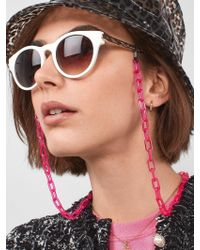 BaubleBar Multicolor Tessara Sunglasses Chain