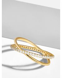 BaubleBar - Multicolor Voglia 18k Gold Plated Ring - Lyst