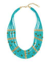 BaubleBar | Blue Briya Necklace | Lyst