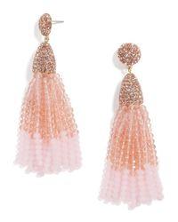 BaubleBar - Pink Gem Piñata Tassel Drops - Lyst