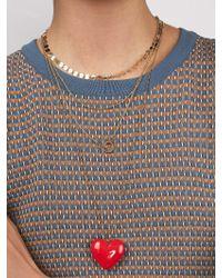 BaubleBar Multicolor Alvena Heart Pendant Necklace