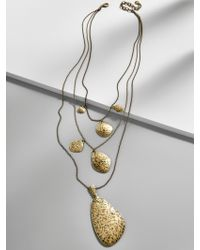 BaubleBar - Multicolor Mataya Layered Necklace - Lyst