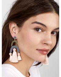 BaubleBar - Multicolor Shamia Drop Earrings - Lyst