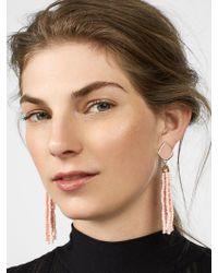 BaubleBar Multicolor Toryn Tassel Earrings