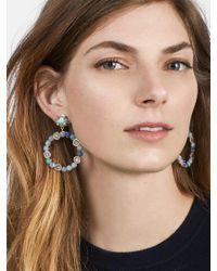 BaubleBar - Multicolor Lavina Hoop Earrings - Lyst