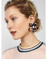 BaubleBar - Multicolor Amariella Flower Resin Stud Earrings - Lyst