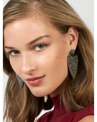 BaubleBar - Multicolor Harmony Heart Drop Earrings - Lyst
