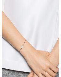BaubleBar - Metallic Pavé Dog Tag Bracelet - Lyst