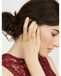 BaubleBar Metallic Peacemaker Ring