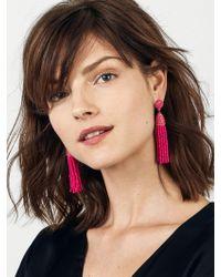 BaubleBar - Pink 'pinata' Tassel Earrings - Lyst