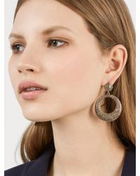 BaubleBar - Multicolor Octavia Hoop Earrings - Lyst
