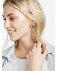 BaubleBar - Metallic Pavé Sputnik Ear Jackets - Lyst