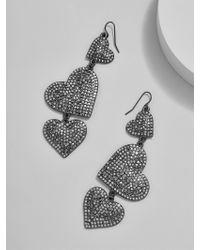 BaubleBar - Multicolor Serenity Heart Drop Earrings - Lyst