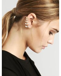 BaubleBar Metallic Aster Ear Crawlers