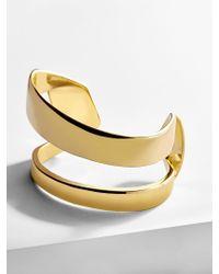 BaubleBar - Metallic Natania Cuff Bracelet - Lyst