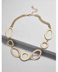 BaubleBar - Multicolor Romona Linked Statement Necklace - Lyst