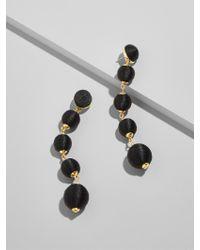 BaubleBar - Black Evelyn Ball Drop Earrings - Lyst