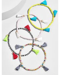 BaubleBar - Multicolor Atlantis Tassel Bracelet Set-multi - Lyst