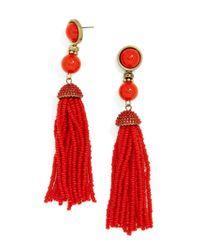 BaubleBar - Multicolor Artemis Tassel Earrings - Lyst
