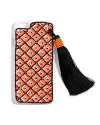 BaubleBar - Multicolor Tassel Iphone Case - Lyst