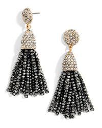 BaubleBar | Mini Metallic Piñata Tassel Earrings | Lyst