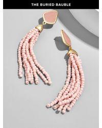 BaubleBar | Multicolor Toryn Tassel Earrings | Lyst