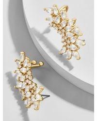 BaubleBar - Multicolor Bordeaux Crystal Crawler Earrings - Lyst