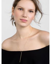 BaubleBar - Metallic Isabella 18k Gold Plated Necklace - Lyst