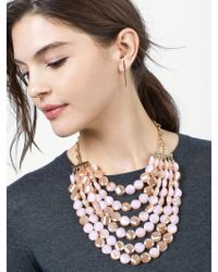 BaubleBar - Multicolor Noel Statement Necklace - Lyst