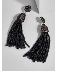 BaubleBar - Black Piñata Tassel Earrings - Lyst