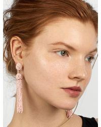 BaubleBar - Multicolor Mini Mariachi Tassel Earrings-blush - Lyst