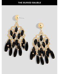 BaubleBar | Black Chandelier Drop Earrings | Lyst
