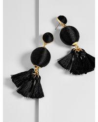 BaubleBar - Black Samba Ball Drops - Lyst