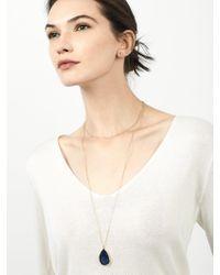 BaubleBar - Gray Merab Druzy Necklace + Face Mask - Lyst