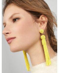 BaubleBar - Yellow Mariachi Tassel Earrings - Lyst