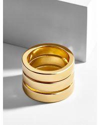 BaubleBar - Metallic Spencer Statement Ring - Lyst